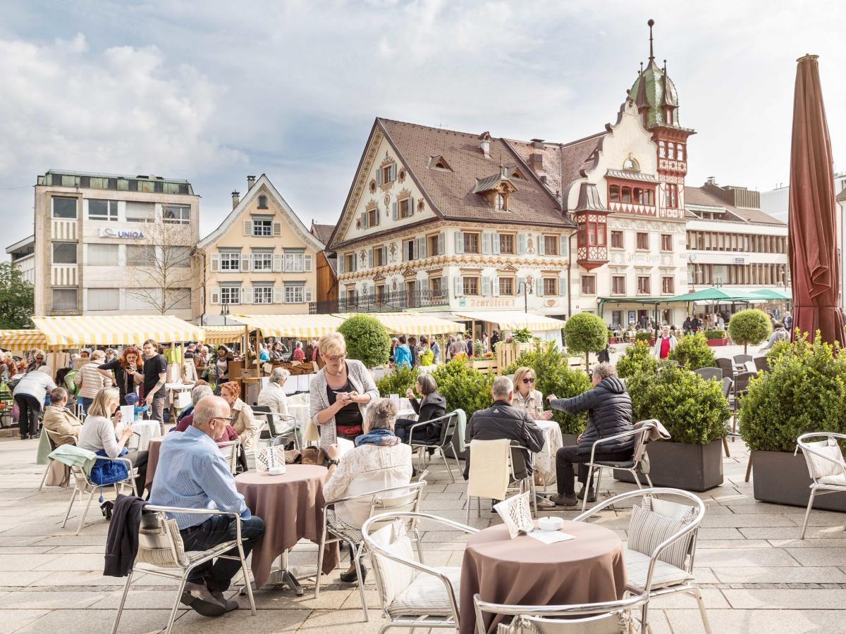 Cafe am Marktplatz in Dornbirn