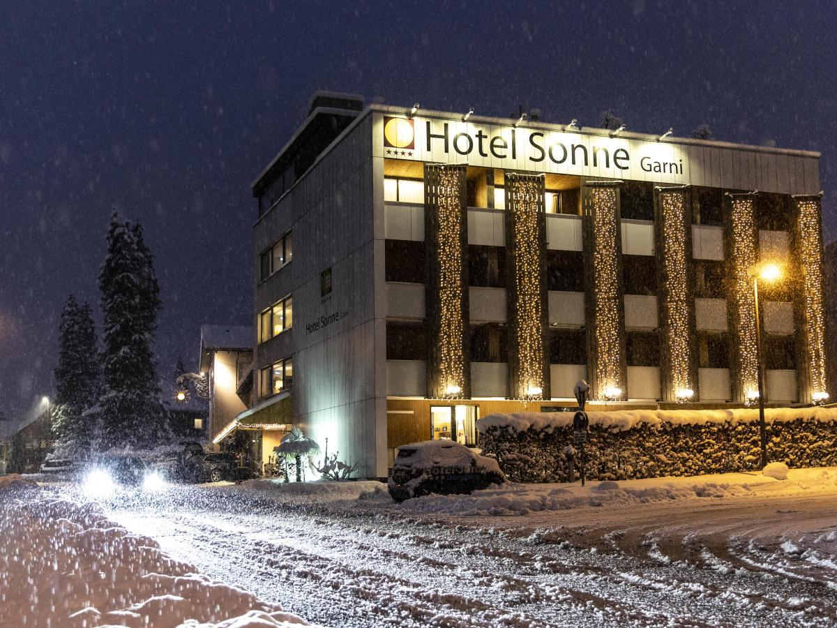 Hotel Sonne 1806 im Winter
